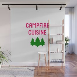 Campfire Cuisine Hiking Mountain Trails Outdoors Wall Mural