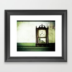 12:37 Plantation Time Framed Art Print