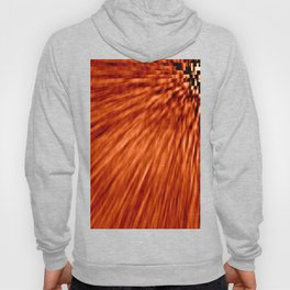 Burnt Orange Pixel Wind Hoody