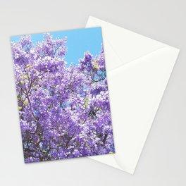 Jacaranda in bloom Stationery Cards