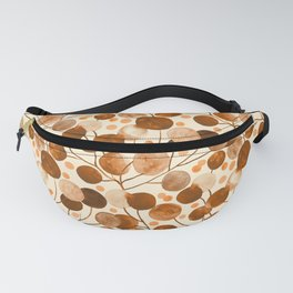 Pompom Plants Earth Tones Fanny Pack
