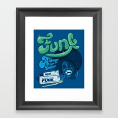 FUNK - ALWAYS KEEPS ME SMILING Framed Art Print