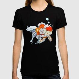Lion Head Goldfish Pink T-shirt