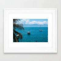 boats Framed Art Prints featuring Boats by Mauricio Santana