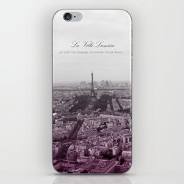 La Ville-Lumiére iPhone Skin