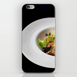 The art of Food Bacon Salad iPhone Skin