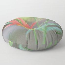 Pastel Columbine Afternoon Floor Pillow