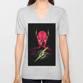 The Flash Unisex V-Neck