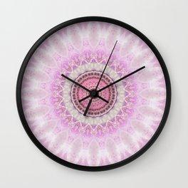 Mandala Magnolia Wall Clock