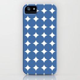 Midcentury Circles and Diamonds 9 iPhone Case