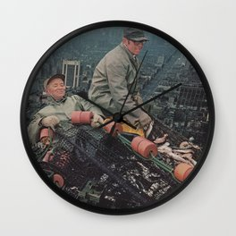 Big City Life Wall Clock