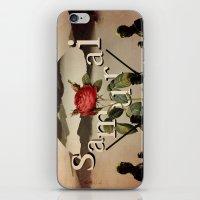 samurai iPhone & iPod Skins featuring samurai by Rosa Picnic