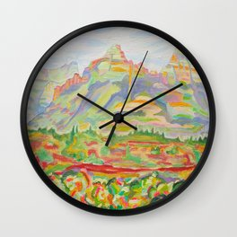 SEDONA HILLS Wall Clock