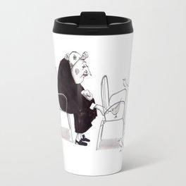 Little Old Bird Lady Travel Mug