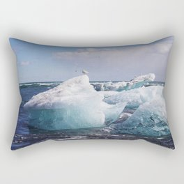 Icy Landing Rectangular Pillow