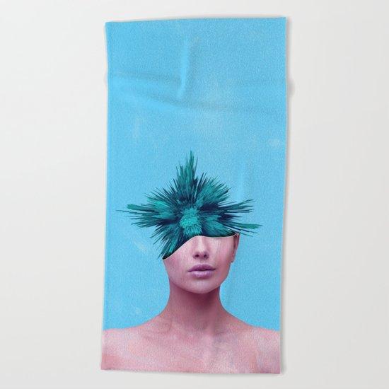 Head Grenade Beach Towel