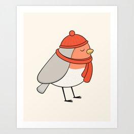 Bird - Robin Art Print