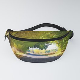 Autumn Country Lane Fanny Pack