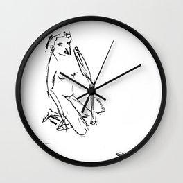 desenho Wall Clock