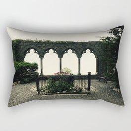 Hammond Castle Archways  Rectangular Pillow