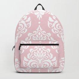 Pink Damask Backpack