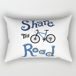 Share the Road Rectangular Pillow