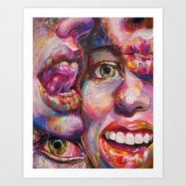 Kinetic Ascension Art Print