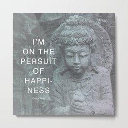 Buddha-licious Metal Print