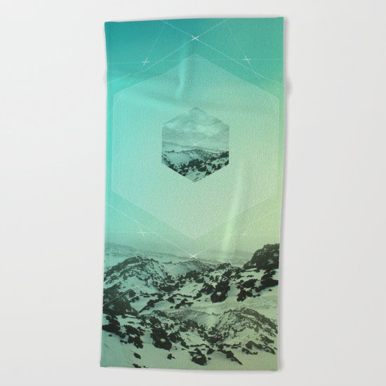 A Place Called Elsewhere Beach Towel