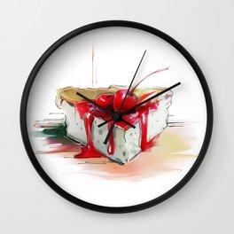 cake2 Wall Clock
