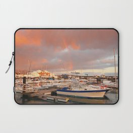 Marina in the Azores Laptop Sleeve