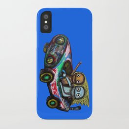 A trip by car iPhone Case