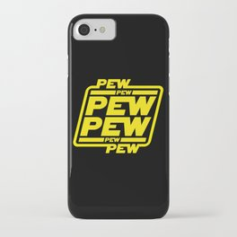 Pew Pew Pew iPhone Case