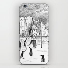 Antarctic explorer iPhone Skin