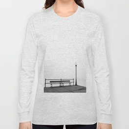 Pier in Early Spring, No. 2 Long Sleeve T-shirt