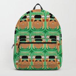 Basketball Green - Court Dunkdribbler - Seba version Backpack