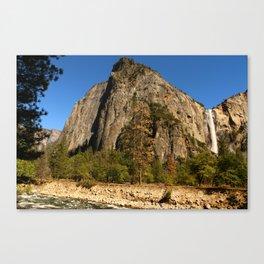 Peaceful Yosemite Valley Scene Canvas Print