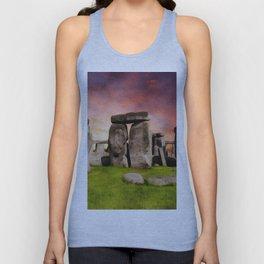 Stonehenge Unisex Tank Top