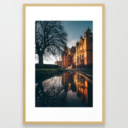 Kelvingrove Reflections. Framed Art Print