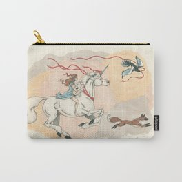 Cadence and the Unicorn Carry-All Pouch