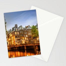 AMSTERDAM Idyllic impression from Singel Stationery Cards