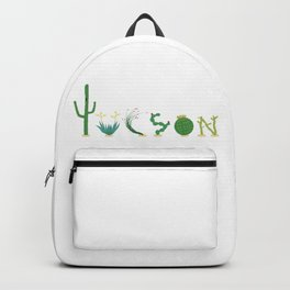 Tucson Cacti Letters Backpack