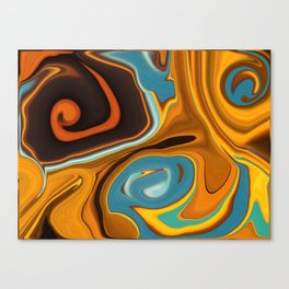 Caramel Dreams Canvas Print