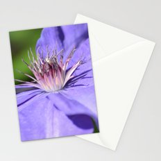 Clematis Flower Stationery Cards