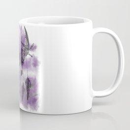 Tie-Dye Flower Skull Coffee Mug