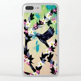 Green Phone Case Clear iPhone Case