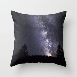 Cascade Galaxy Throw Pillow