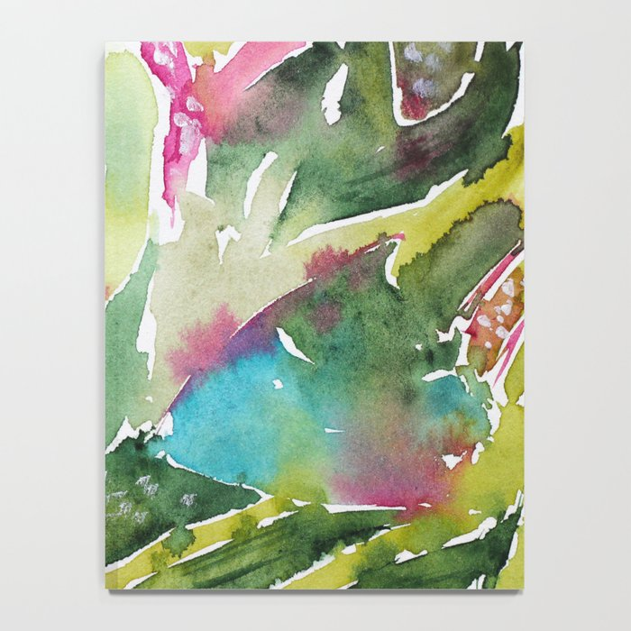 Floral abstraction || watercolor Notebook