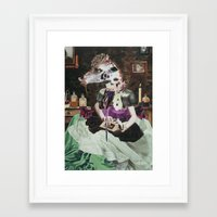 perfume Framed Art Prints featuring PERFUME by Vahge