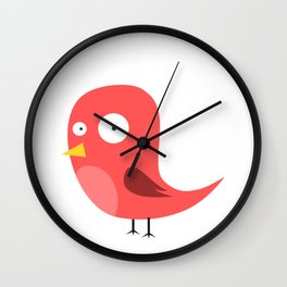100 Days of School Survived 100 Days of Me Bird Funny Wall Clock